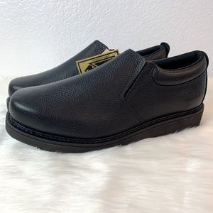 Work America Black Leather Responder Shoes NWT